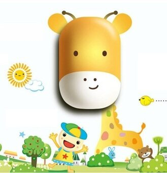 Harga Kids Wall Sticker Lamp - Giraffe
