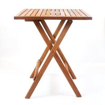 Harga HK OSAKA Square Folding Outdoor / Garden Table (Acacia Wood - 60cm)
