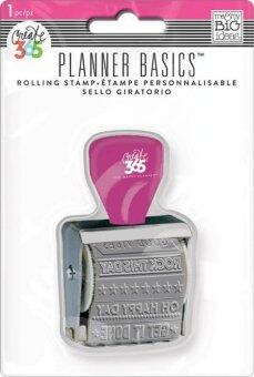 Harga Planner Basics - Bright Rolling Stamp