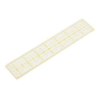 Harga MagiDeal Rectangular Acrylic Quilting Templates Patchwork Sewing Ruler Tool