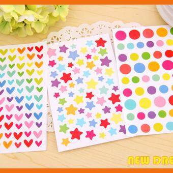 Harga Colourful Decoration Sticker (Love)