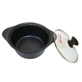 Harga Kitchen-Art Nano Silver Marble Non-stick Sauce Pot 26cm