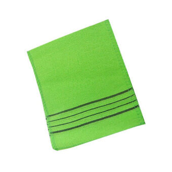 Harga GOLD Asian Exfoliating Bath Washcloth 20pcs(Green)