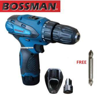 Harga BOSSMAN 12V Lithium-Ion Cordless Driver Drill BL12 (6 MONTHS WARRANTY)