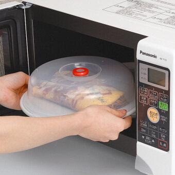 Inomata microwave lid dish plastic Dust Cover
