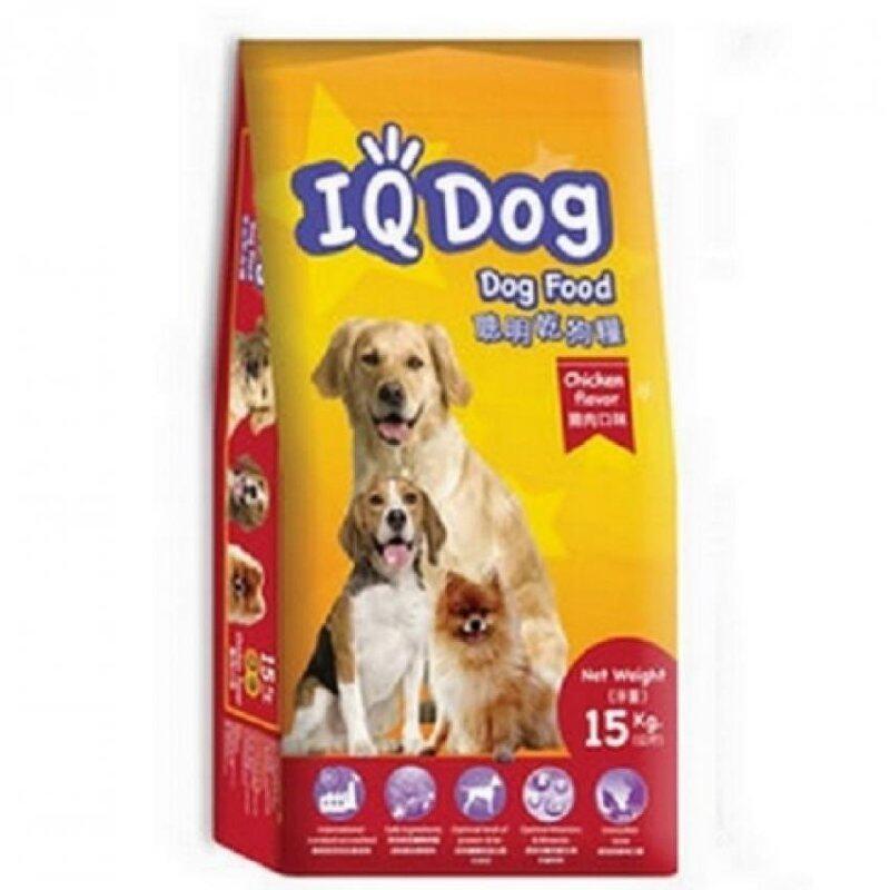 Buy IQ Chicken Flavor Adult Dog Food 15kg Malaysia