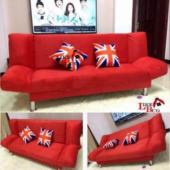 IRIS: 2 Seater Living Room 2 - in - 1 Foldable Designer Sofa Bed