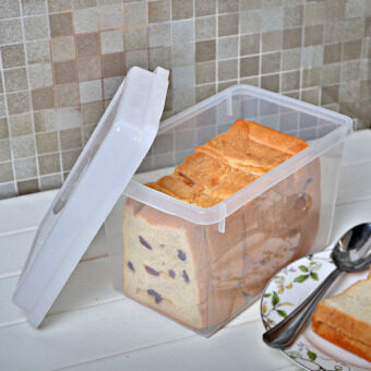 Harga Japan imported authentic Sanada bread box storage box refrigeratorfood storage box