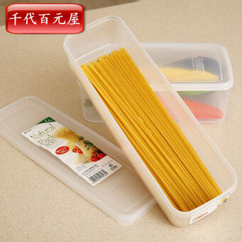 Japan Imports Inomata kitchen noodles storage box Italian side boxfood refrigerator storage box chopsticks box