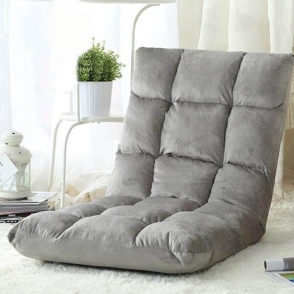 Japan Style Lazy Sofa Black