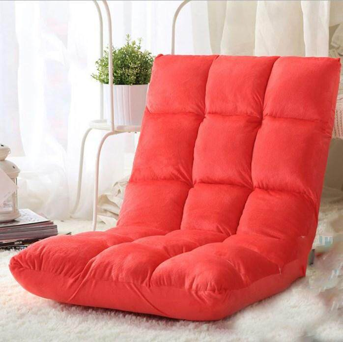 Japan Style Lazy Sofa Red