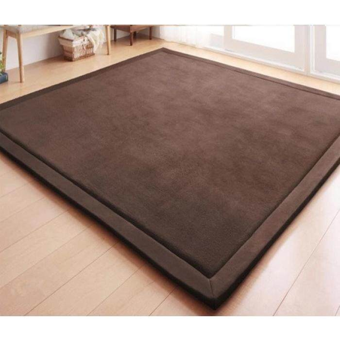Japanese Style Tatami Floor Carpet READY STOCK dark brown