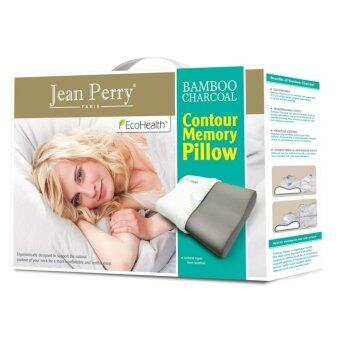 Jean Perry Bamboo Charcoal Contour Memory Pillow