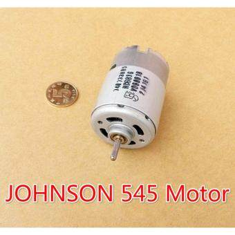 Harga JOHNSON 545 DC motor 6V-12V axis front ball bearing motor 12V 5A49000RPM high speed good for DIY Electric tool(6.8)