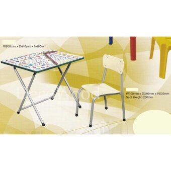 Kids Table/Children Table/Study Table/ABC Table/Meals Table/Playtime Table Pre Order 1 Week L600MM X D440MM X H480MM