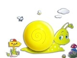 Kids Wall Sticker Lamp - Snail