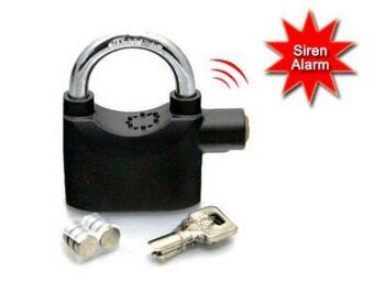 Kinbar Siren Alarm Padlock for Door And Motor - 3
