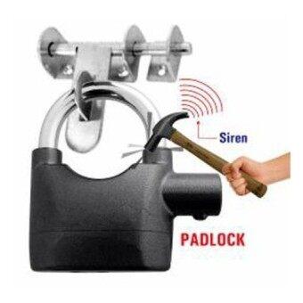 Kinbar Siren Alarm Padlock for Door And Motor - 2