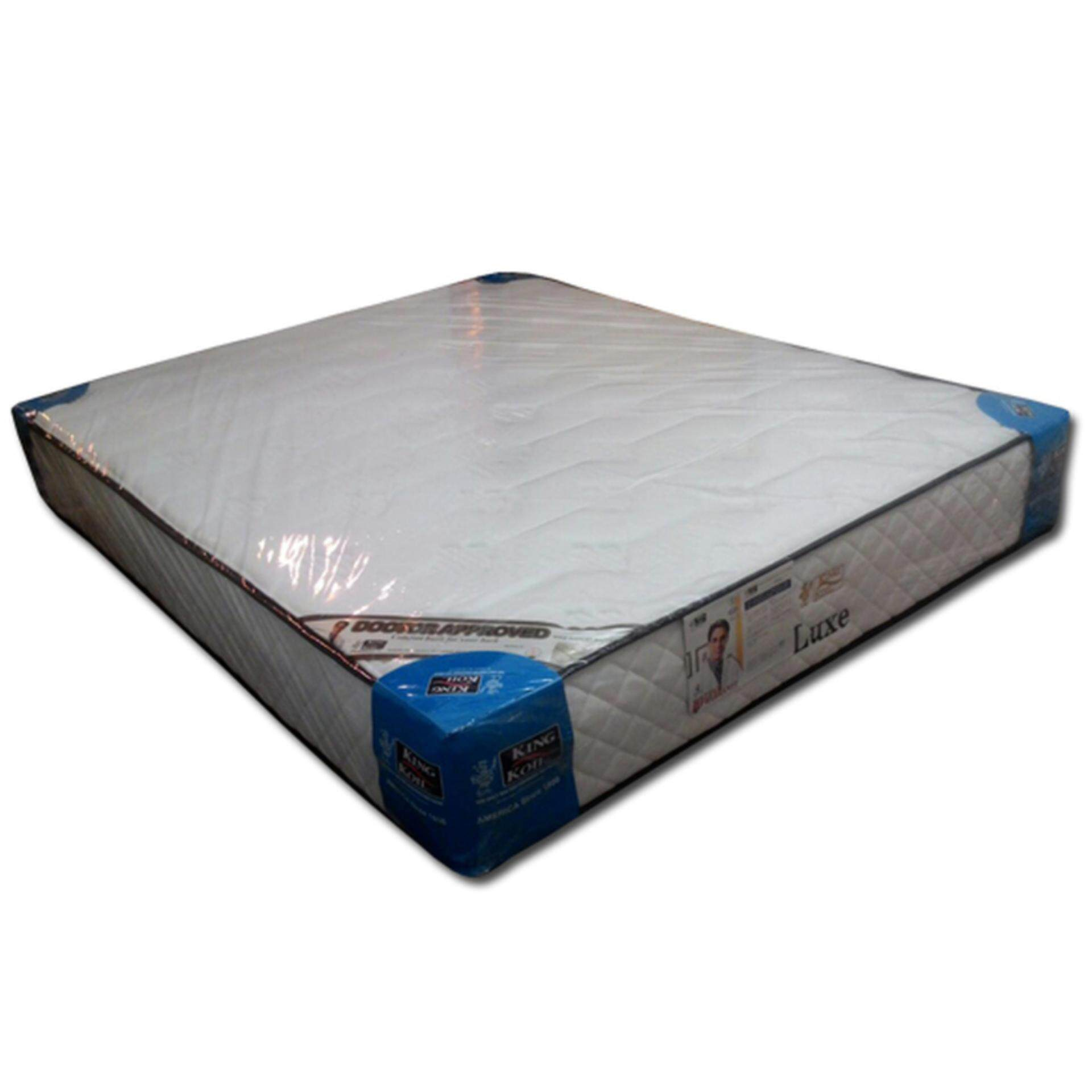 King Koil Luxe 11 Inches Firm Chiropractic Spring Mattress (10 Years Warranty)