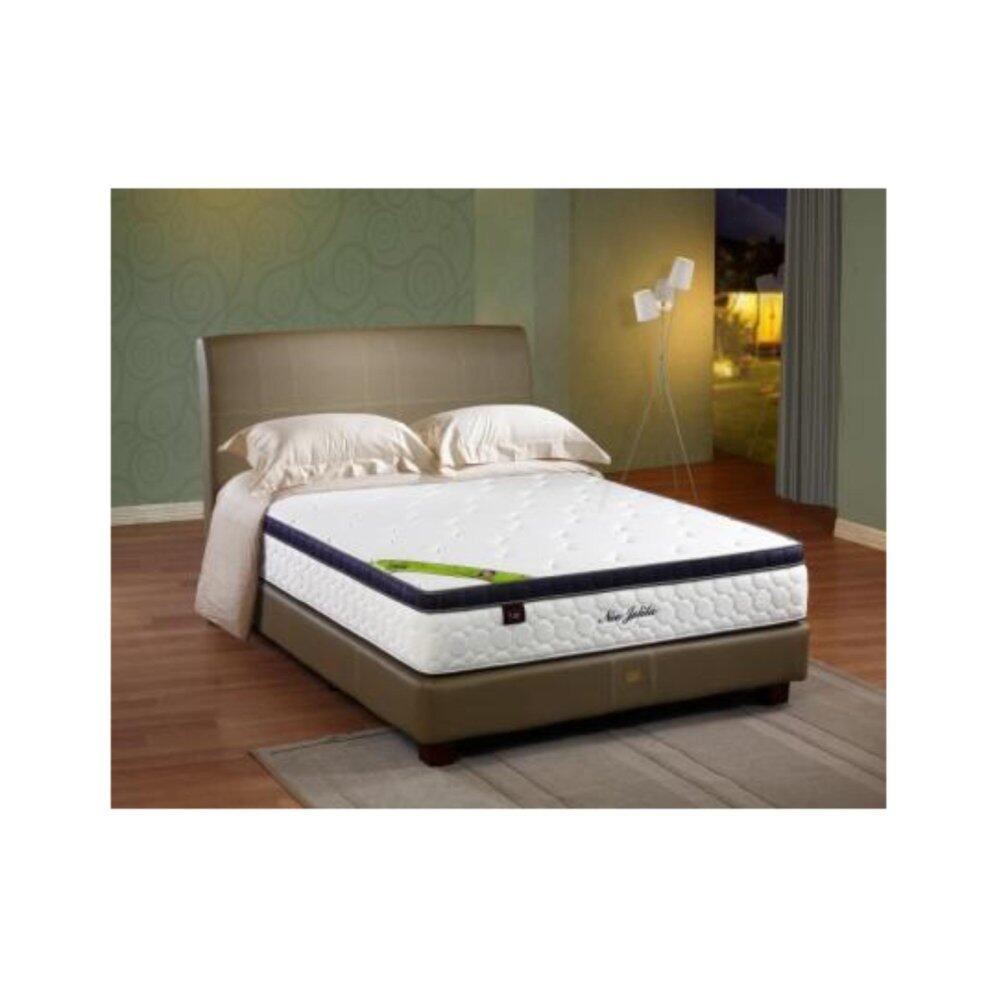 King Koil Nee Jelita 11 Inches Semi-Firm Chiropractic Spring Queen Mattress (10 Years Warranty)