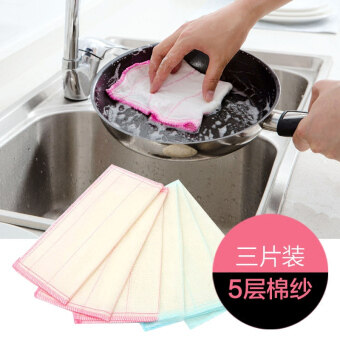 Harga Kitchen cleaning dish cloth