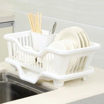 Kitchen drain water dish rack home put dish rack plastic drain rackshelving rack put bowl the rack drain dish rack hanging dish rack