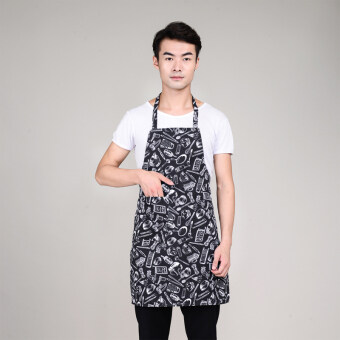 Kitchen halter barbecue shop home apron chef clothes