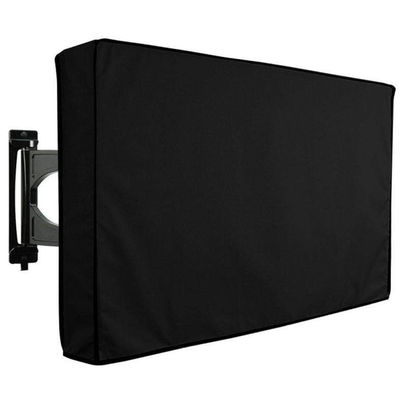 Buy Kobwa Outdoor TV Cover Weatherproof - Fully Covered - Universal For Any Mount And Stand - Black (40-42) Malaysia