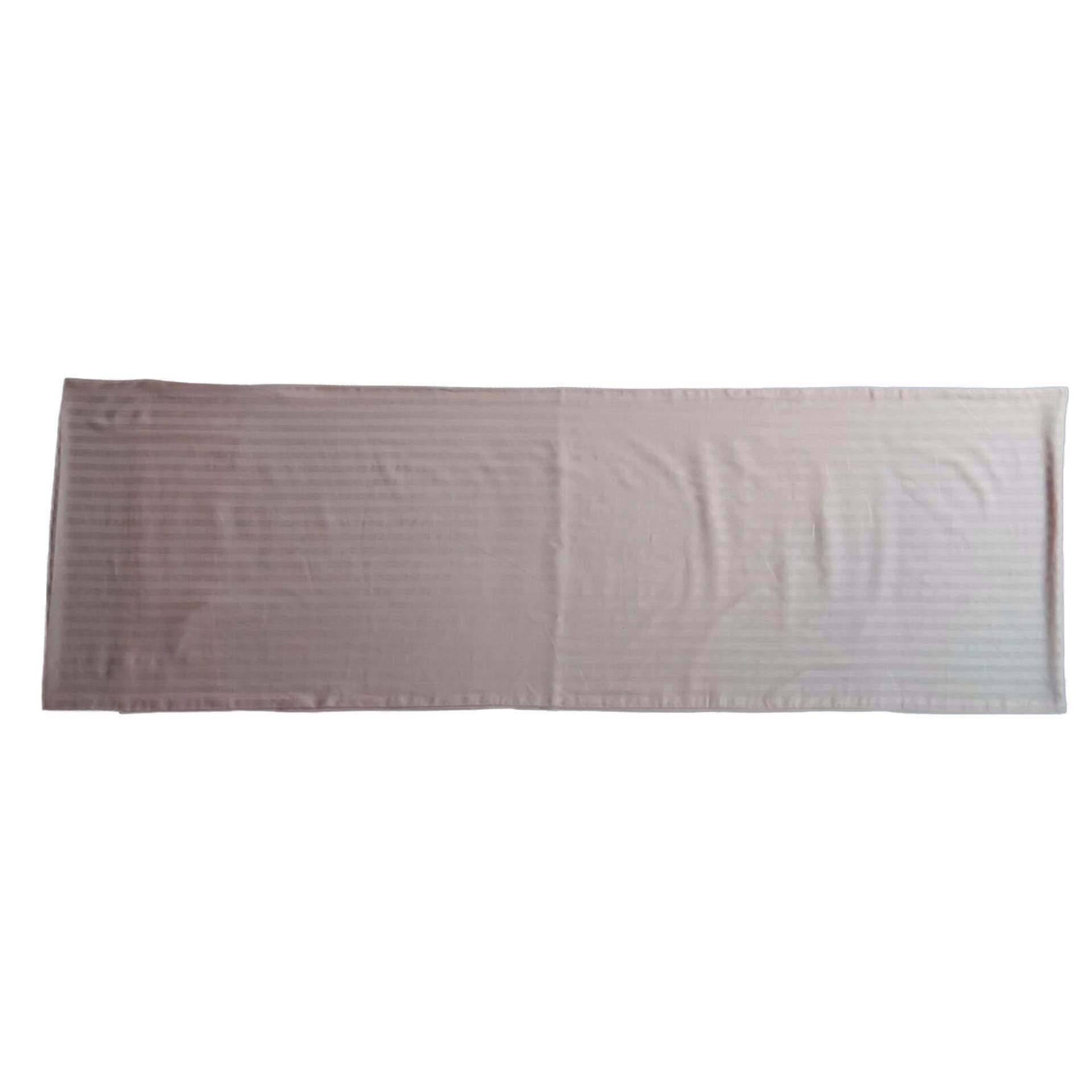 Ladubee premium Body Pillow Cover (Pink Satin Stripes)