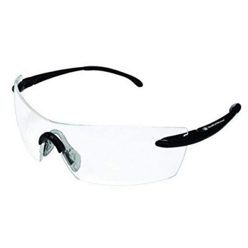 Buy [lamore]Smith & Wesson 23006 Caliber Safety Glasses, Universal, Clear Anti-Fog Lenses with Black Frame Malaysia
