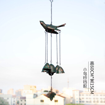 L& dijia hummingbird in southern Cast Iron iron garden windchimes