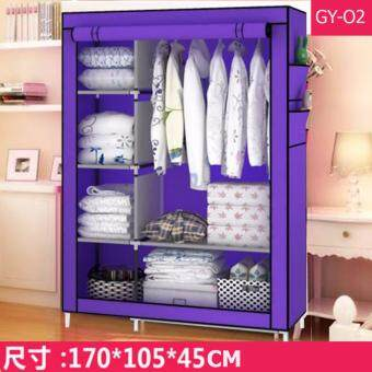Le Huo Shi Guang GY-02 High Quality Roll Up Curtain Dust and Water Resistance DIY Modern Multifunctional Cloth Wardrobe