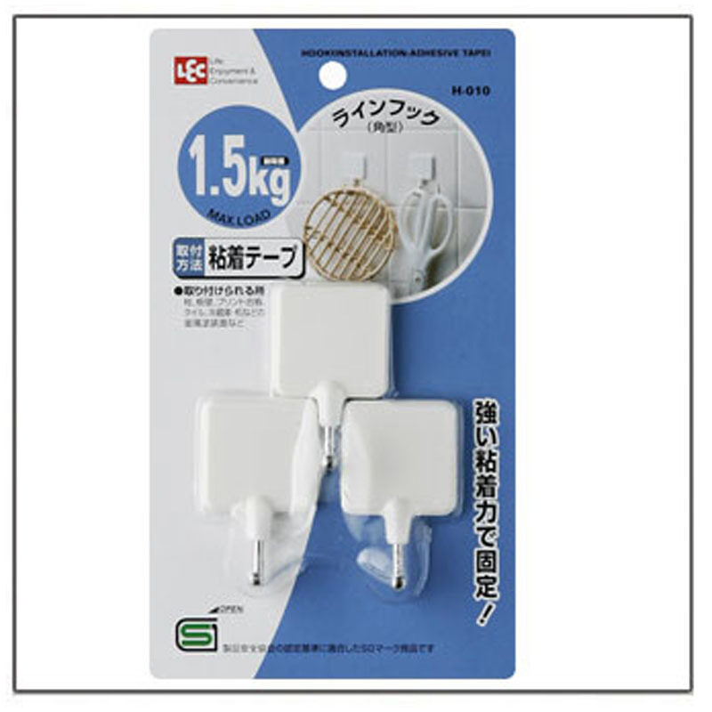 Buy LEC strong h-010 kg stick hook paste-style hook Malaysia