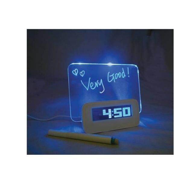 LED Clock With Message Board