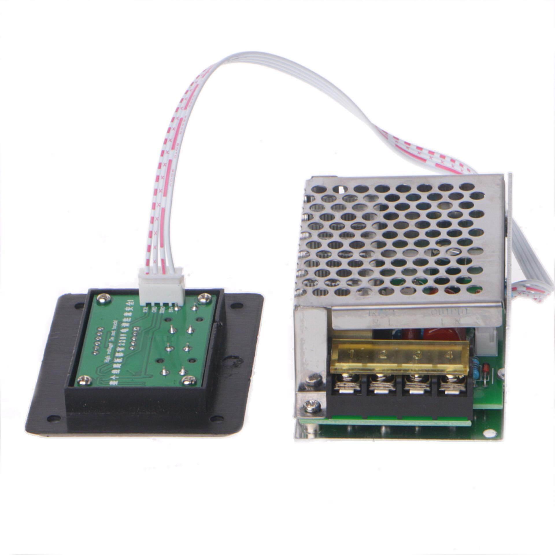 Fitur Led Display Ac 220v 4000w Scr Voltage Regulator Control Light Dimmer Thermostat Intl 4