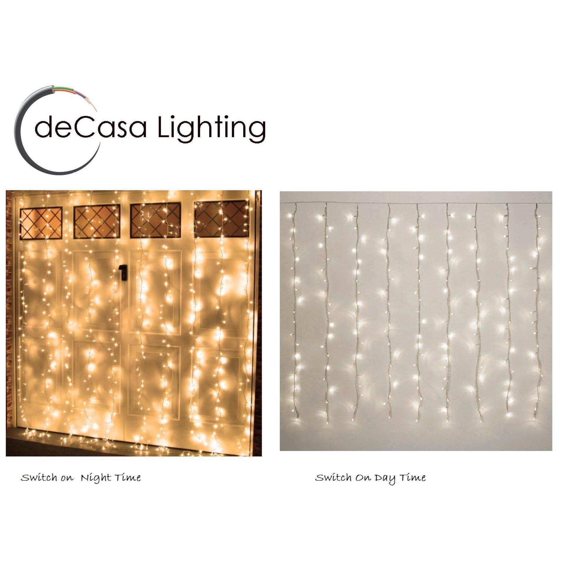 Led Fairy Light Warm White Decasa Fairy Light 2meter x 2meter