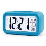 LED Smart Alarm Clock- Blue