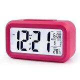 LED Smart Alarm Clock- Pink