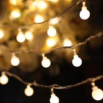 Harga Wondershop 10m 100led Colorful Lights Decorativel Twinkle String Lamp Bulb Eu Plug Price ...