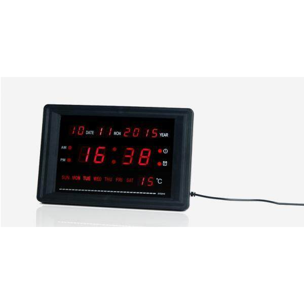 Led Wall/Table Clock With Sound