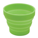 Lewis N. Clark Luggage Silicone Travel Cup, Green, One Size