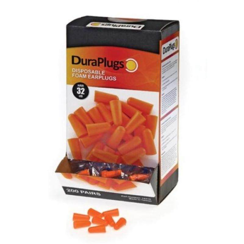 Buy Liberty DuraPlug Uncorded Disposable Foam Earplug with 32 dB NRR, Orange (Case of 200 Pairs) Malaysia