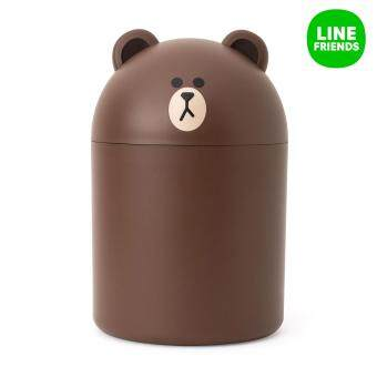 LINE FRIENDS MINI BIN(22cm)_BROWN