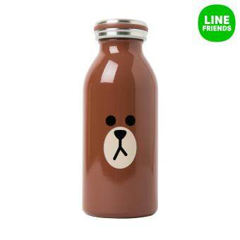 Harga LINE FRIENDS MOSH TUMBLER 350ml_BROWN