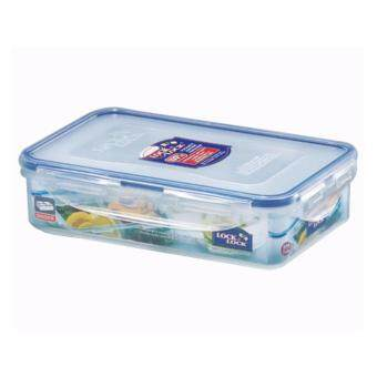 Lock & Lock HPL816C Rectangular Short Food Container 800ml withdivider