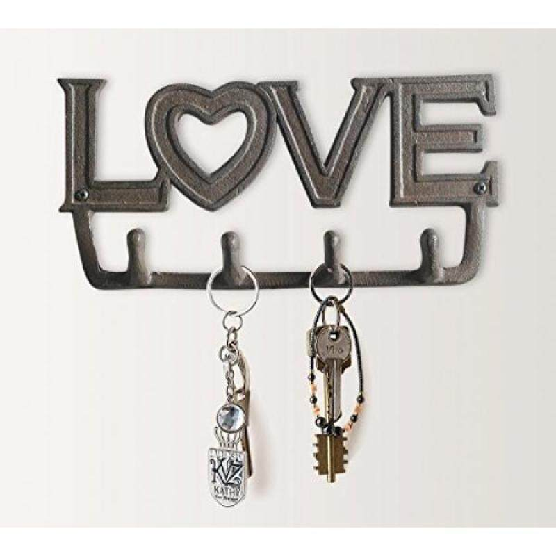 """LOVE"" Antique Key Holder by Comfify 