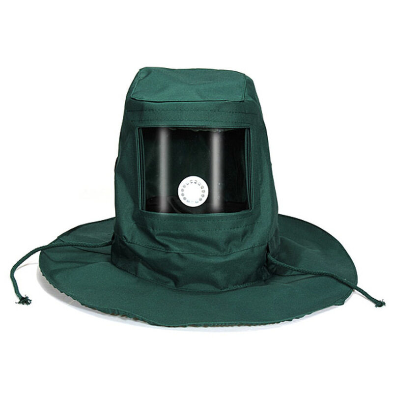 Lucky Anti Wind Dust Blasting Hood Sand Abrasive Sandblaster Cap Mask Protective Tool