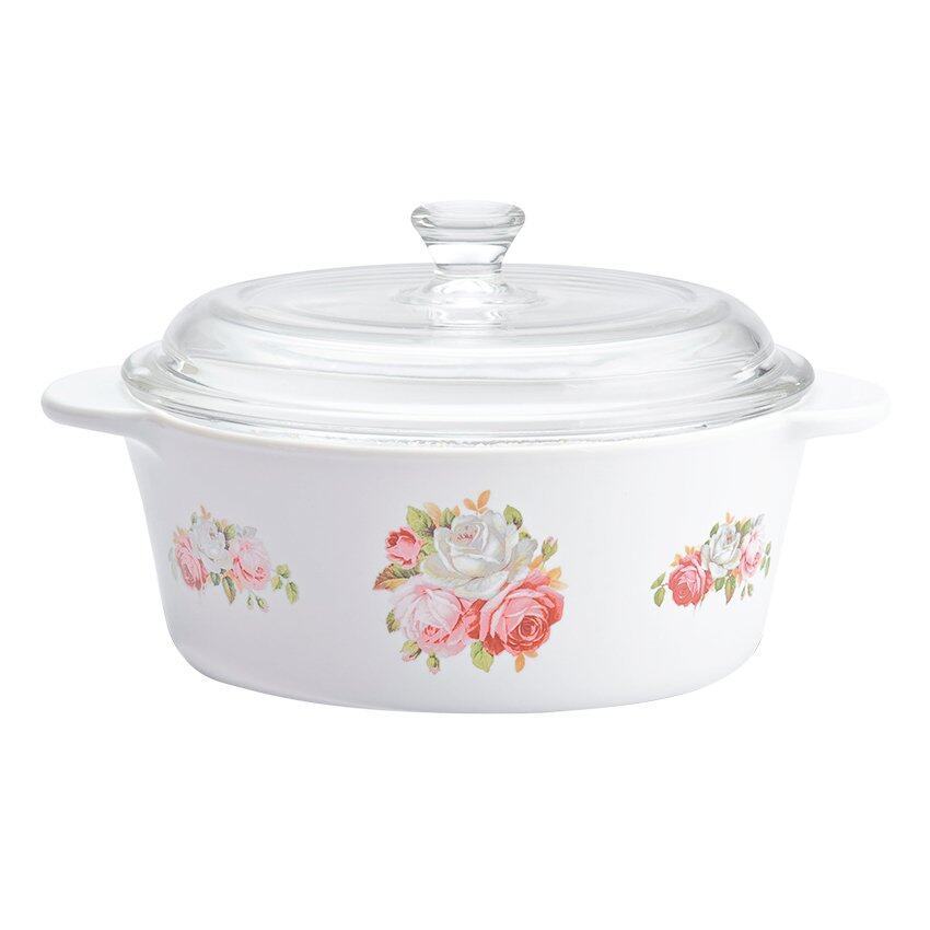 Luminarc Vitroline Aeria 1L Casserole White Source Luminarc .