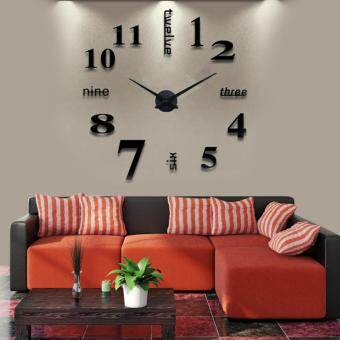 Luxury 3D DIY Modern Home Decoration Wall Clock S015