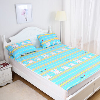 M1 cotton across the urine breathable bedsheet fitted bedsheet